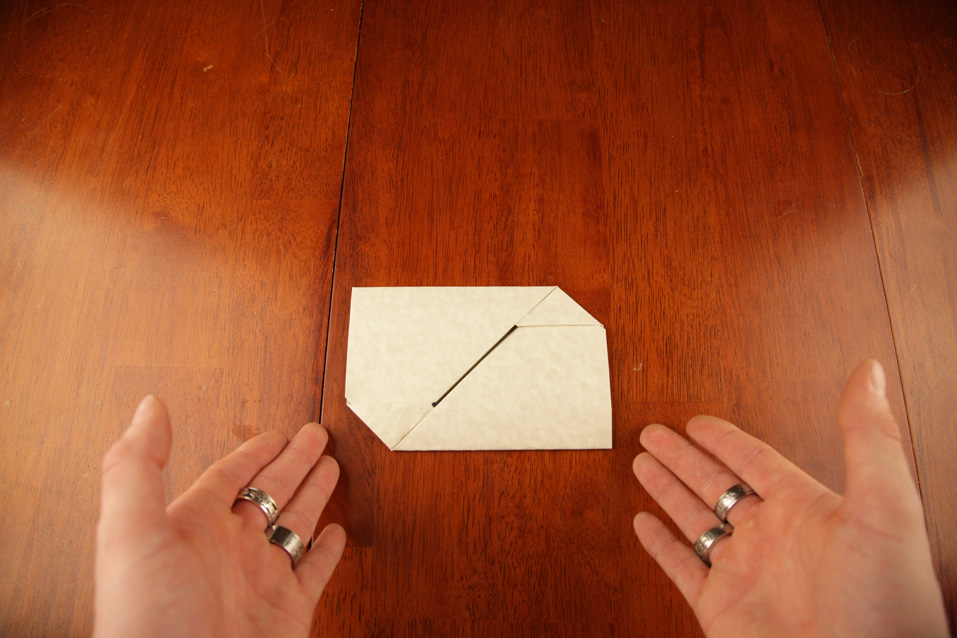 Updates A Tutorial For Folding Paper Into An Envelope